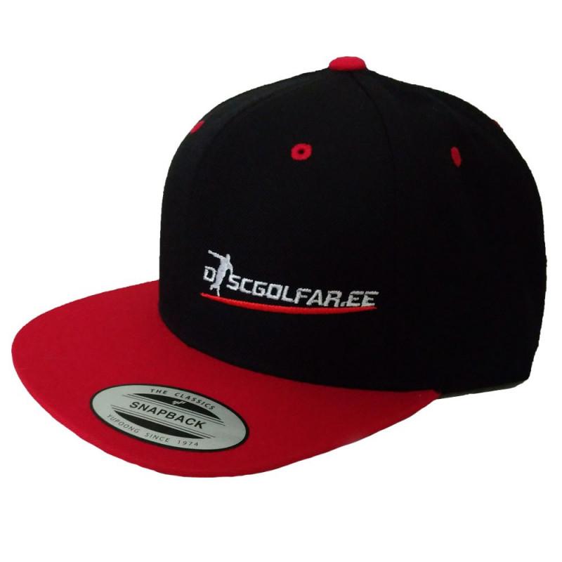 Discgolfar.ee Snapback Cap