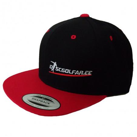 Discgolfar.ee Snapback Classic nokamüts
