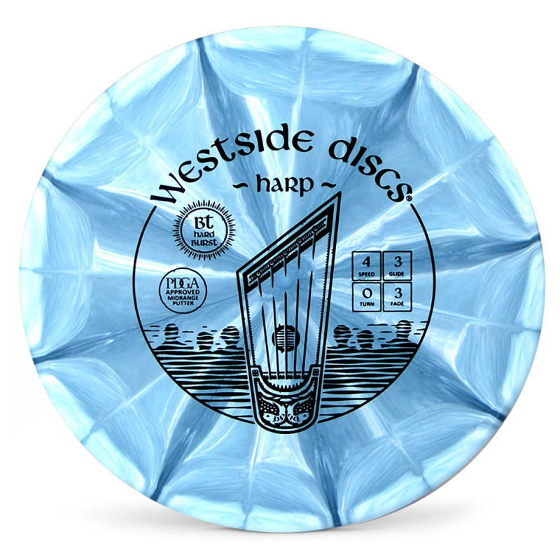 Westside Discs BT Hard Harp (Burst)