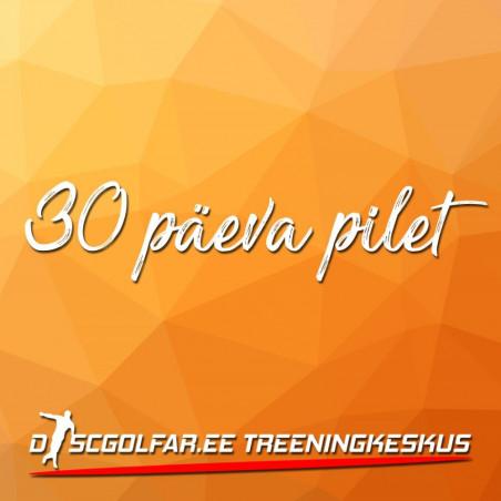 Discgolfi treeningsaali 30 päeva pilet