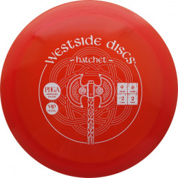 Westside Discs Tournament Hatchet