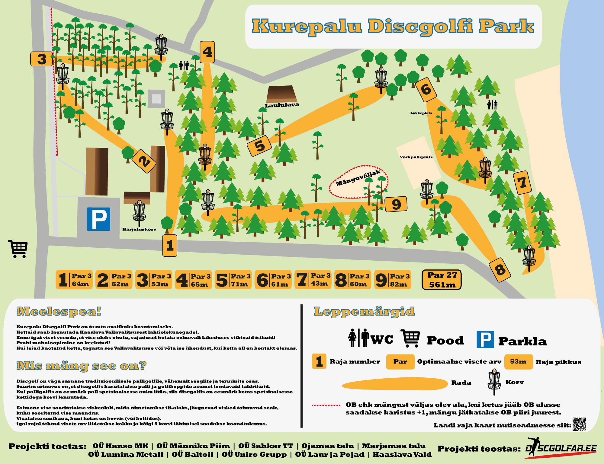 Kurepalu Discgolfi Park